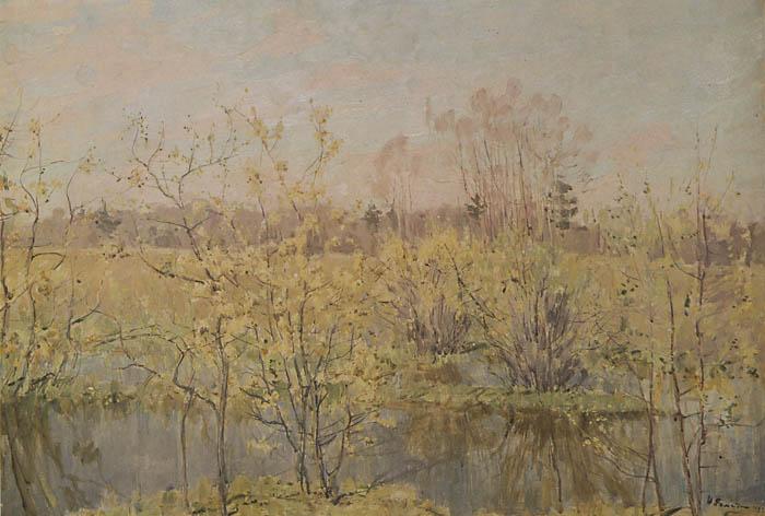 Сочинение по картине Ромадина «Первое цветение»