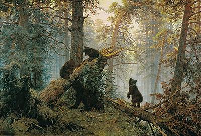 пришвин деревья в лесу сочинение
