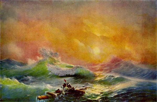 Сочинение по картине Айвазовского «Девятый вал».