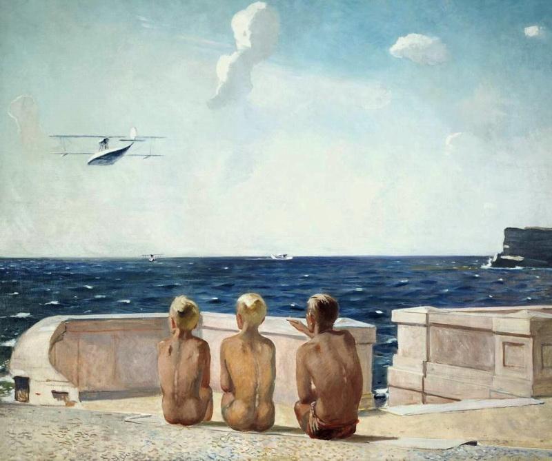 Сочинение по картине А. Дейнека Будущие летчики