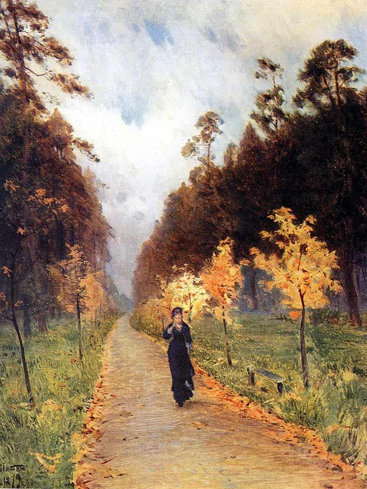 Сочинение по картине Левитана «Осенний день. Сокольники».