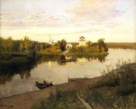 Сочинение по картине И. Левитана «Вечерний звон»
