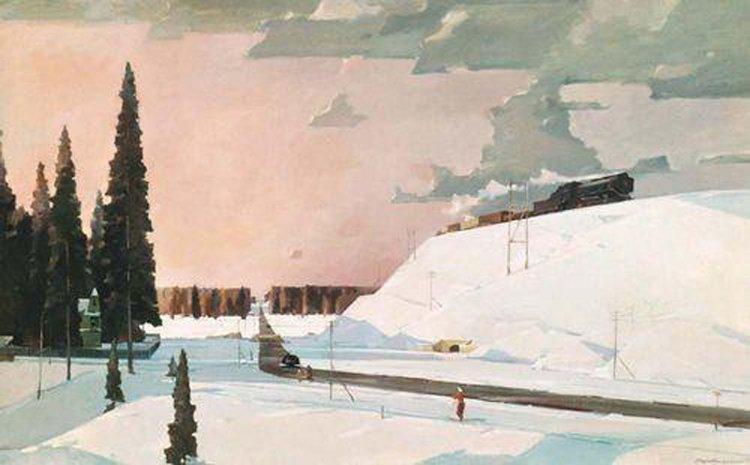 Сочинение по картине Нисского «Февраль. Подмосковье»