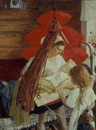 Сочинение по картине Пластова «Мама»