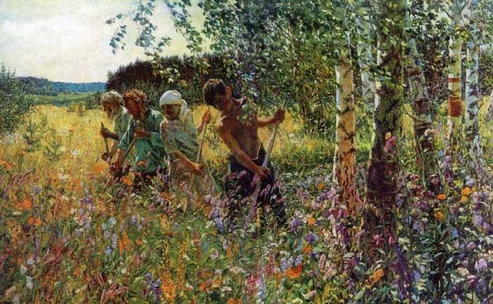Сочинение по картине Пластова «Сенокос»