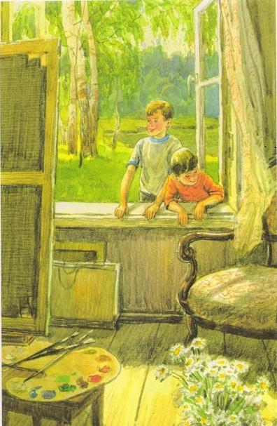 Сочинение по картине Сыромятниковой «Первые зрители»