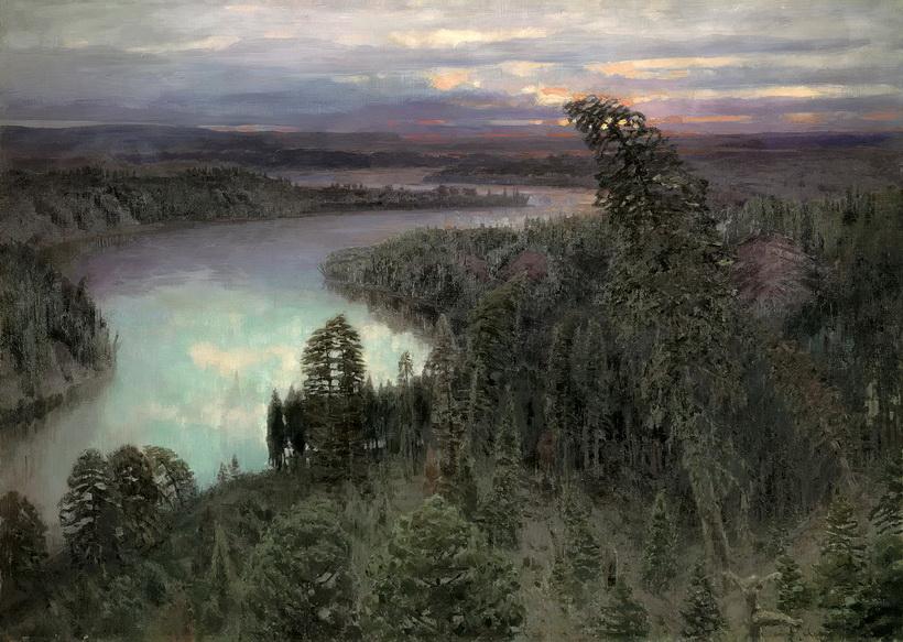 Сочинение по картине Васнецова «Северный край».