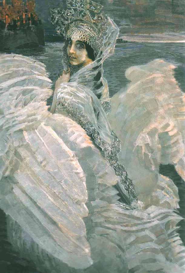 Сочинение по картине М. Врубеля «Царевна-Лебедь»