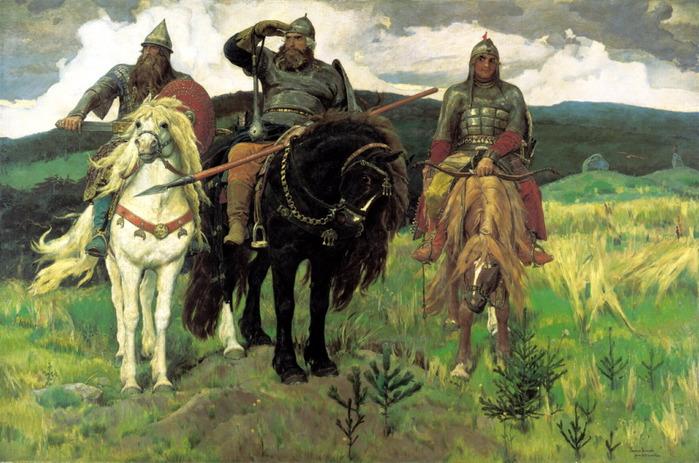 Сочинение по картине В.М. Васнецова «Богатыри» (второй вариант)