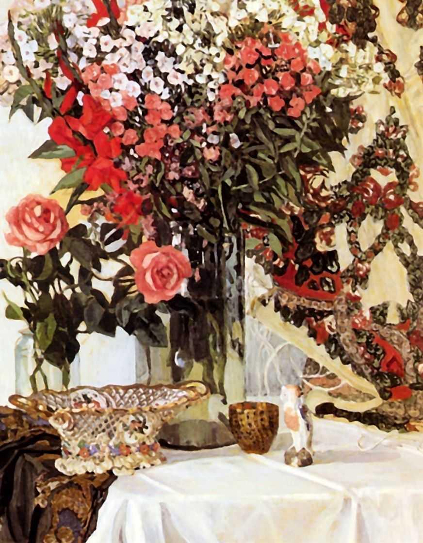 Сочинение по картине А.Я. Головина «Натюрморт. Цветы в вазе»