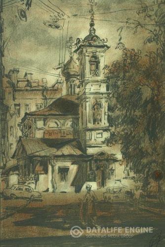 Сочинение по картине Т.Г. Назаренко «Церковь Вознесения на Улице Неждановой в Москве» (2 вариант)
