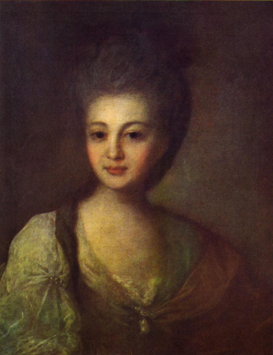 Сочинение по картине Ф. Рокотова «Портрет А.П. Струйской»