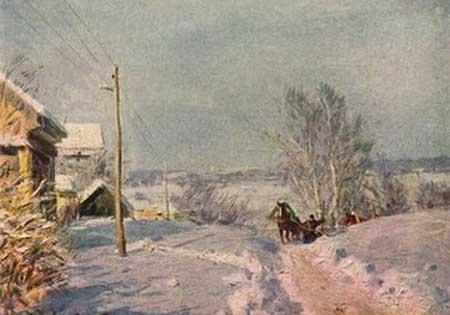 Сочинение по картине В.Г. Цыплакова «Мороз и солнце»