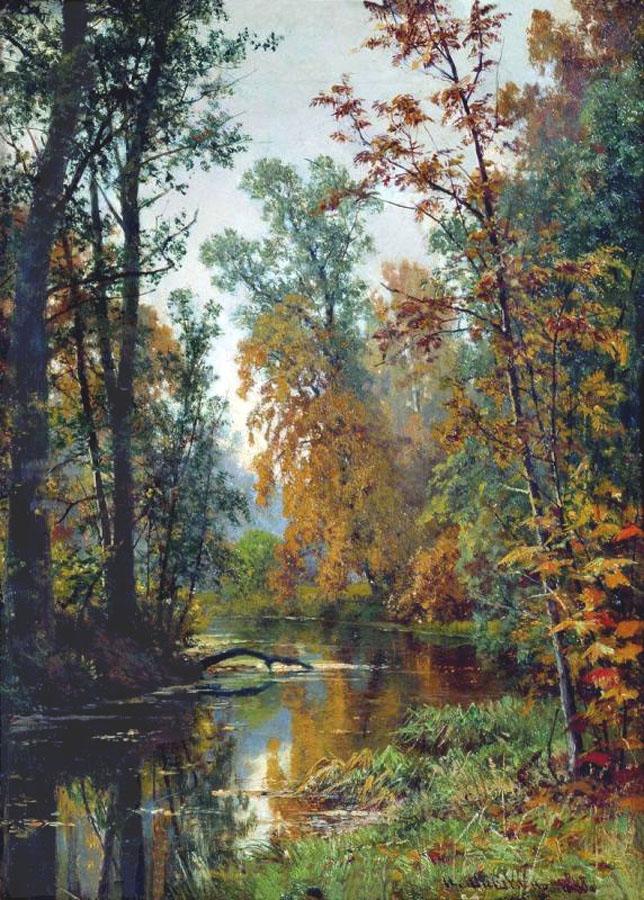 Сочинение по картине И.И. Шишкина «Парк в Павловске»