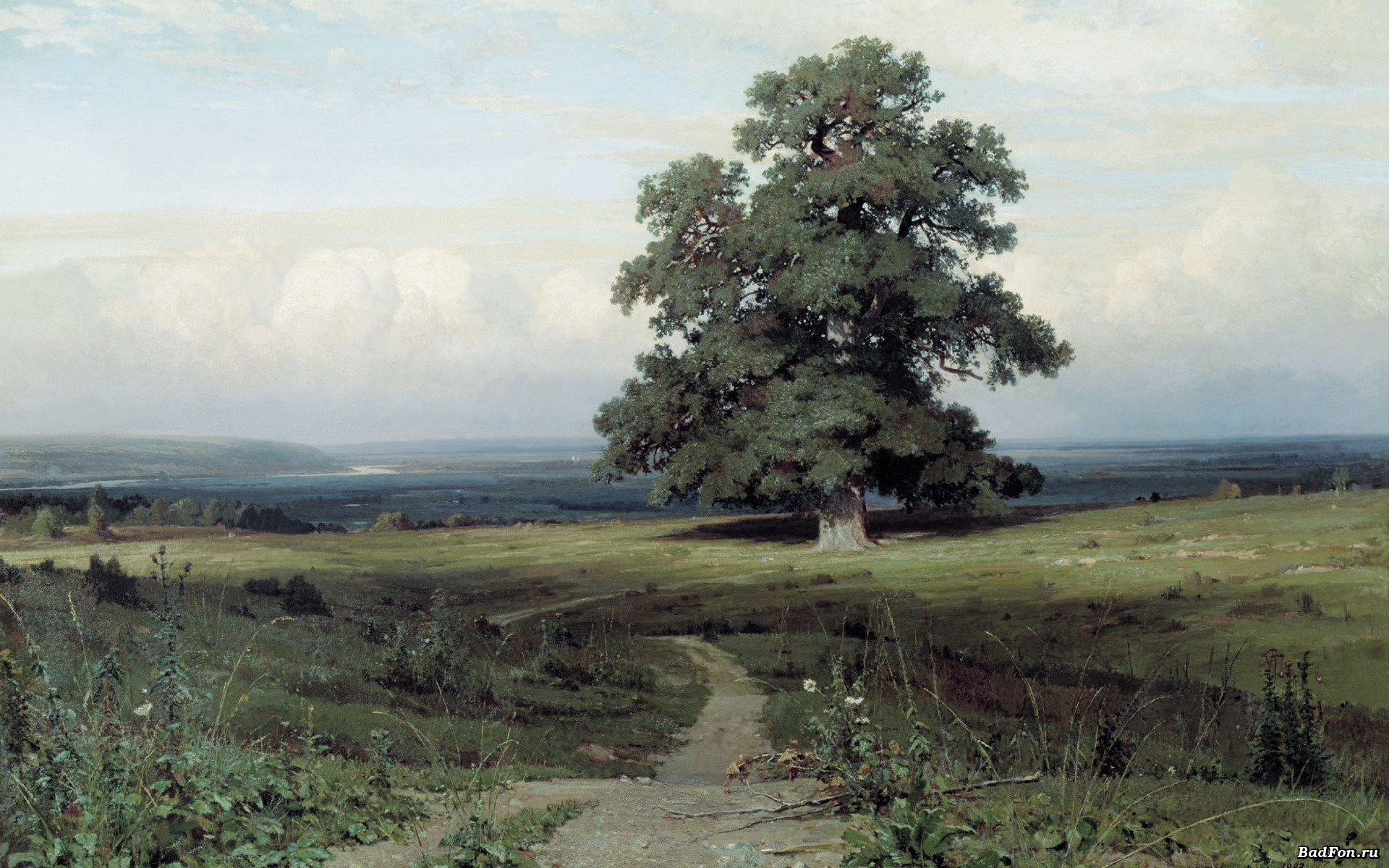 Сочинение по картине И.И. Шишкина «Среди долины ровныя…»
