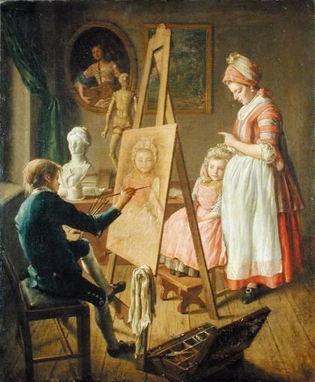 Сочинение по картине И.И. Фирсова «Юный живописец»
