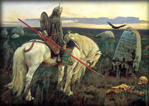 Сочинение по картине В.М.Васнецова «Витязь на распутье» (2 вариант)