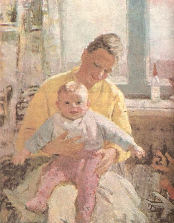 Сочинение по картине В.К. Нечитайло «Материнство»