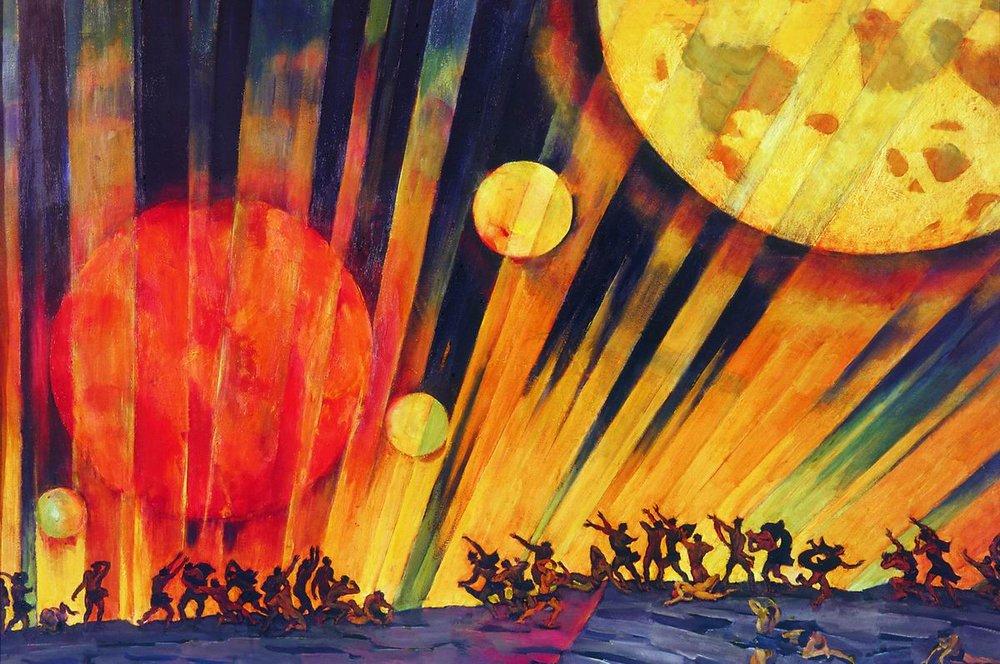 Сочинение по картине К.Ф. Юона «Новая планета»