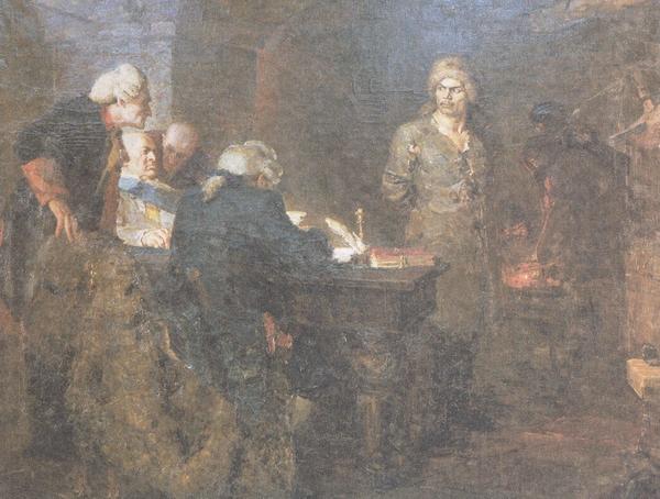 Сочинение по картине А. Кузнецова «Допрос Салавата»