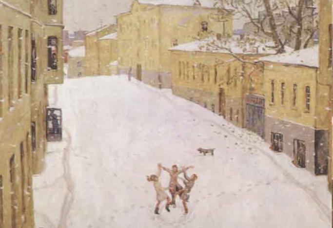 Сочинение по картине И. Попова «Первый снег» (сочинение в форме дневниковой записи) - 1 вариант