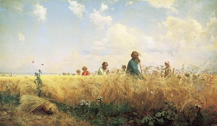 Сочинение по картине Г.Г. Мясоедова «Косцы (Страдная пора)» (с планом)