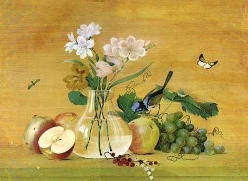 Сочинение по картине Ф.П. Толстого «Цветы, фрукты, птица»