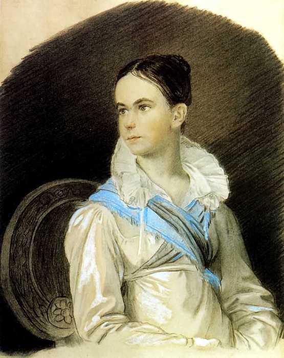 Сочинение по картине О.А. Кипренского «Портрет Н.В. Кочубей» (портретный очерк)