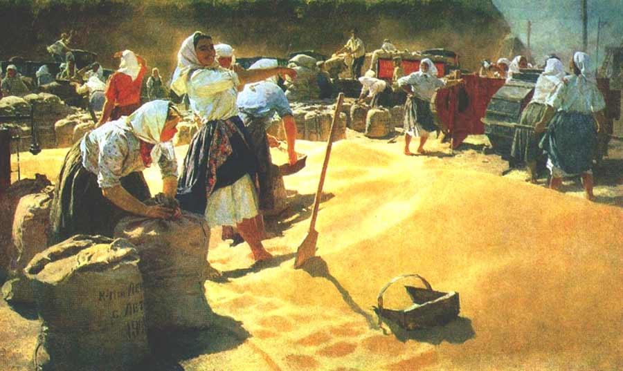 Сочинение по картине Т.Н. Яблонской «Хлеб»