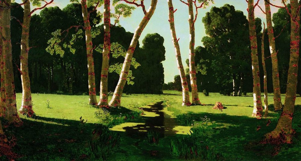Сочинение по картине А.И. Куинджи «Березовая роща» (1879 г.)