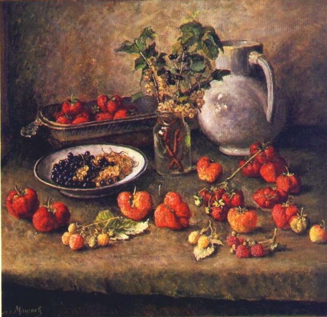 Сочинение по картине И.И. Машкова «Клубника и белый кувшин»