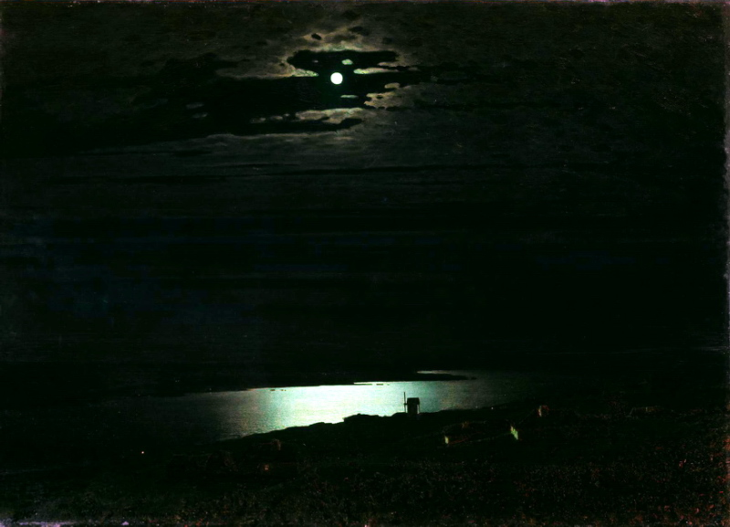 Сочинение по картине А. Куинджи «Лунная ночь на Днепре»