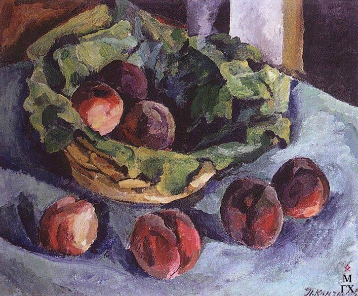 Сочинение по картине П.П. Кончаловского «Персики»