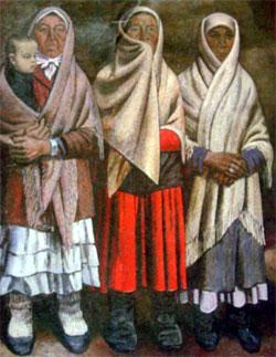 Сочинение по картине А.Ф. Лутфуллина «Ожидание»