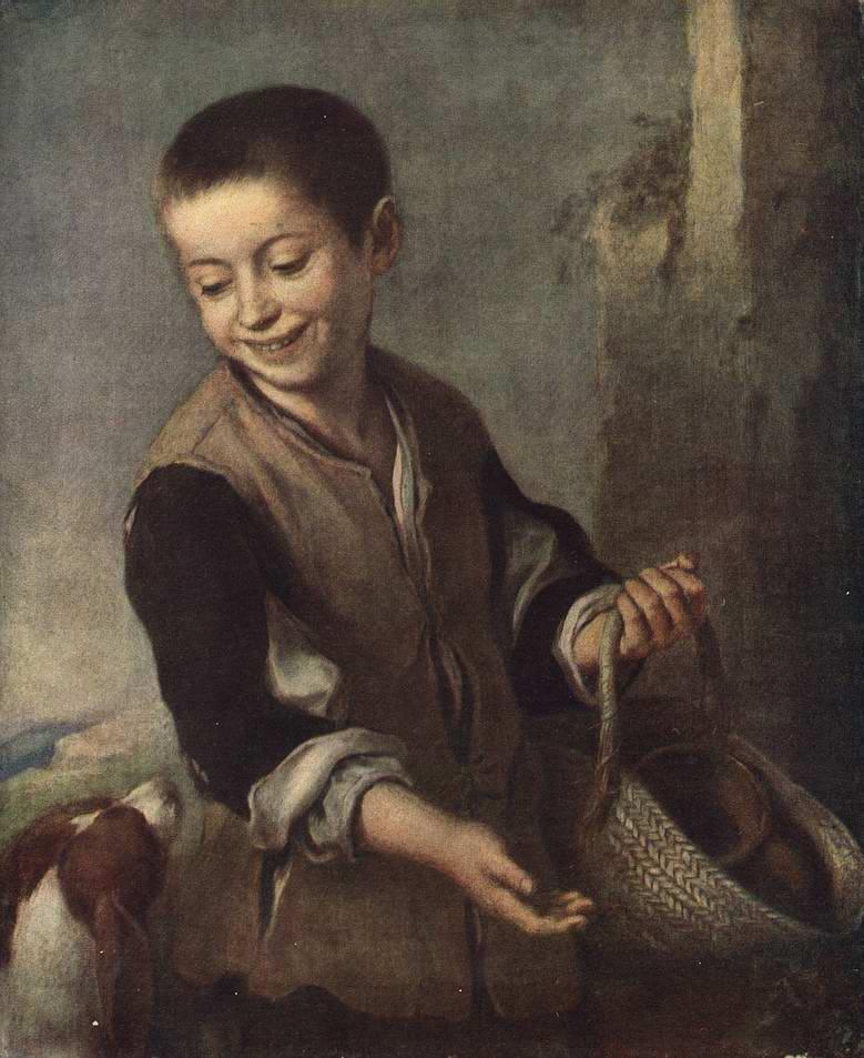 Cочинение по картине Бартоломе Мурильо «Мальчик с собакой»