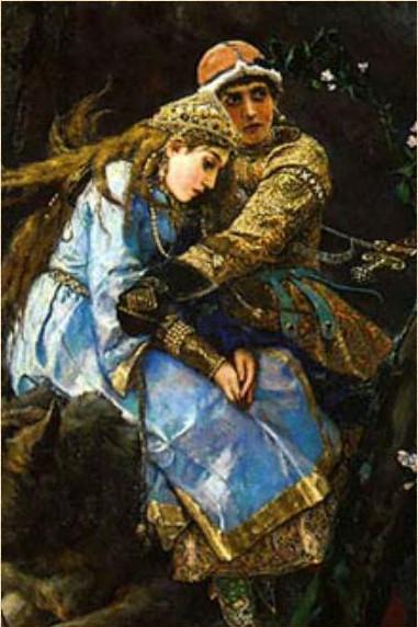 Сочинение по картине В. М. Васнецова «Иван-царевич на Сером волке»