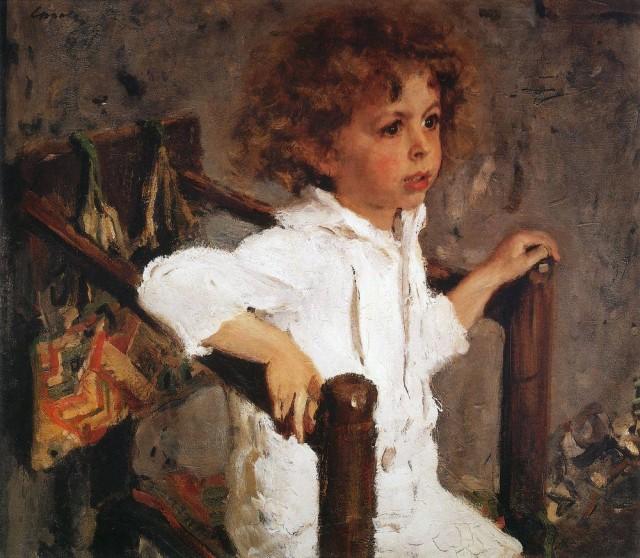 Сочинение по картине В. А. Серова «Мика Морозов» (2 вариант)
