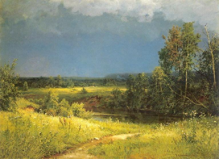 Сочинение по картине И. И. Шишкина «Перед грозой» (2 вариант)