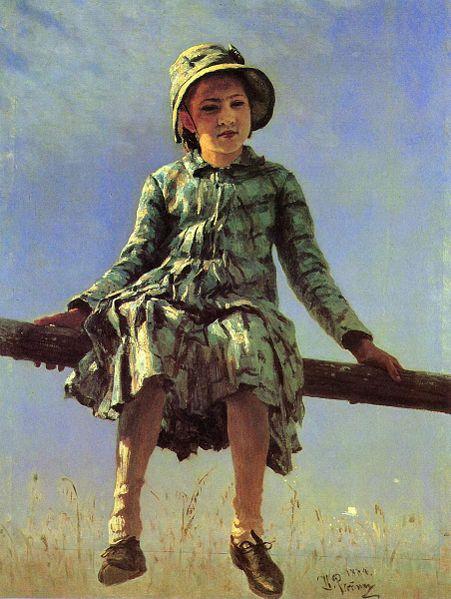 Сочинение по картине И. Е. Репина «Стрекоза»