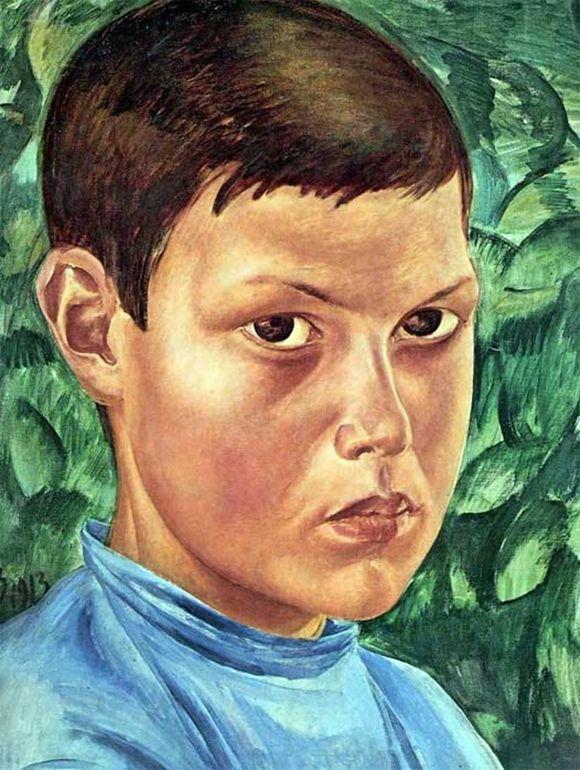 Сочинение по картине К. С. Петрова-Водкина «Портрет мальчика»