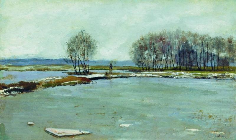 Сочинение по картине И.И. Левитана «Ранняя весна»