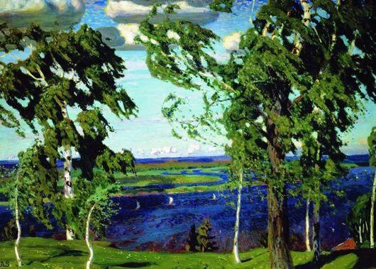 Сочинение по картине А. А. Рылова «Зеленый шум»
